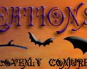 Custom Etsy Banner for Willowcat Creations: Halloween