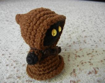 Star Wars Jawa Amigurumi Doll Crochet Pattern