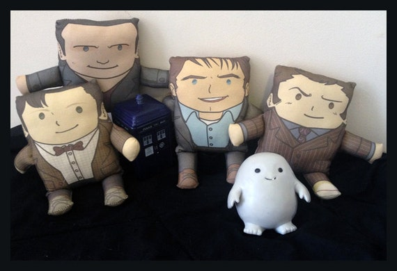 Doctor Who Pillow Plushies