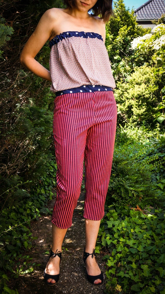 Overall in Marine-Style, S/M or L/XL