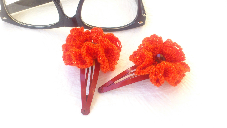 Crochet Hair Barrettes : Chandeliers & Pendant Lights