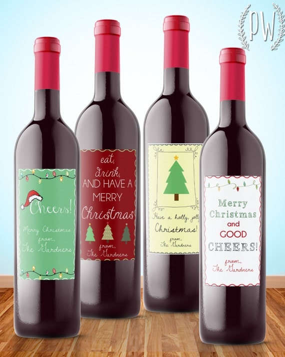 Selective image within printable wine bottle tags