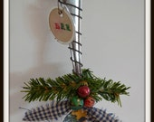 CIJ, Snowman Christmas ornaments, snowman tea spoon, snowman holiday winter decor Free Shipping