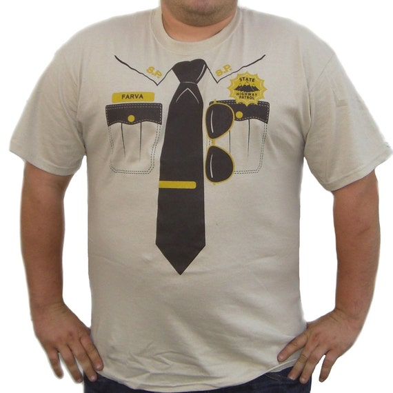 Rod Farva Supertroopers T-Shirt Super Troopers By MyPartyShirt