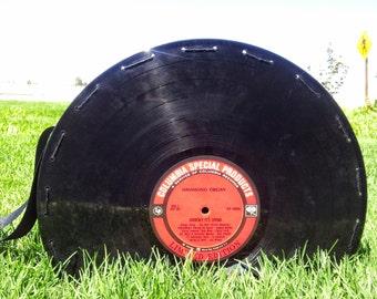 Columbia Vinyl Record Purse