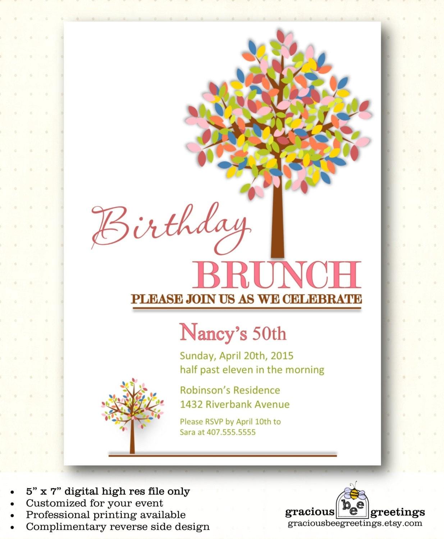 Invitation Birthday Lunch Gallery - Invitation Sample And Invitation ...