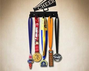 Cheer Medal Display, Medal Hanger, medal holder, or hang anything ! Larger 10 hook size available:www.sporthooks.com