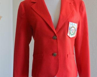 SALE 50% OFF: 1984 Olympic Team Women's Blazer Sample Garment by Levi-Strauss