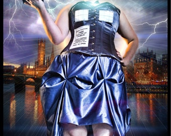 Dr. who TARDIS gown