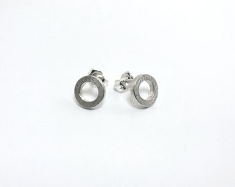 Studs circle 925 Silver