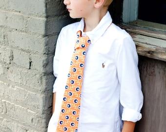 Custom Boutique Necktie, Size 1-3 yr, 4-6 yr, and 7-10 yr- Boys Necktie- Boy Necktie- Custom Boys Necktie- Toddler Tie- Tie- the Dottedduck