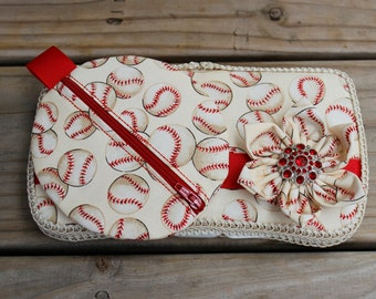 Home Run Baseball Boutique Wipe Case