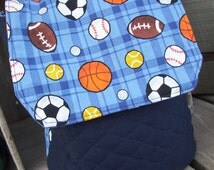 Sports Lunch Tote, Boys Lunch Bag