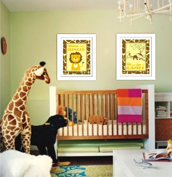 jungle nursery art welcome to the by thecootiescollection jungle theme bedroom jungle themed bedrooms for 2 year old boys