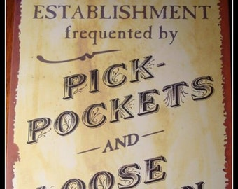 Old Inn  Sign - Print