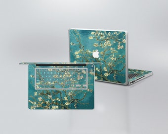MacBook Cover Skins -Van Gogh Blossoming Almond Tree Pattern
