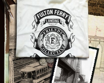 Fulton Ferry Landing Brooklyn N.Y.  T-shirt