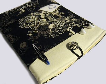 Surface Pro 4 Case, Surface 3 Case, Surface RT Sleeve, Surface 2 Case, Microsoft Surface Case, Surface Pro cover, Tan Flowers
