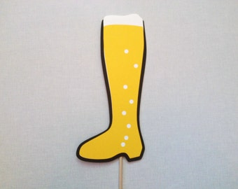 Das Boot Photo Booth Prop - Beer Boot Photo Booth Prop - Oktoberfest - Drinking Games