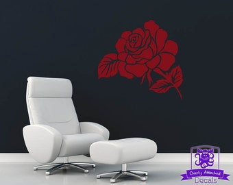Delicate Rose Wall Decal