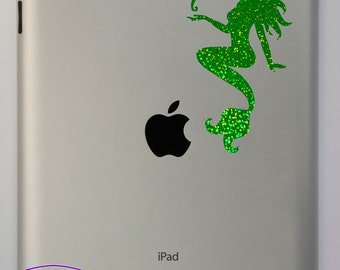 Mermaid with Seahorse iPad Decal