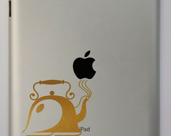 Tea Time Teapot iPad Decal