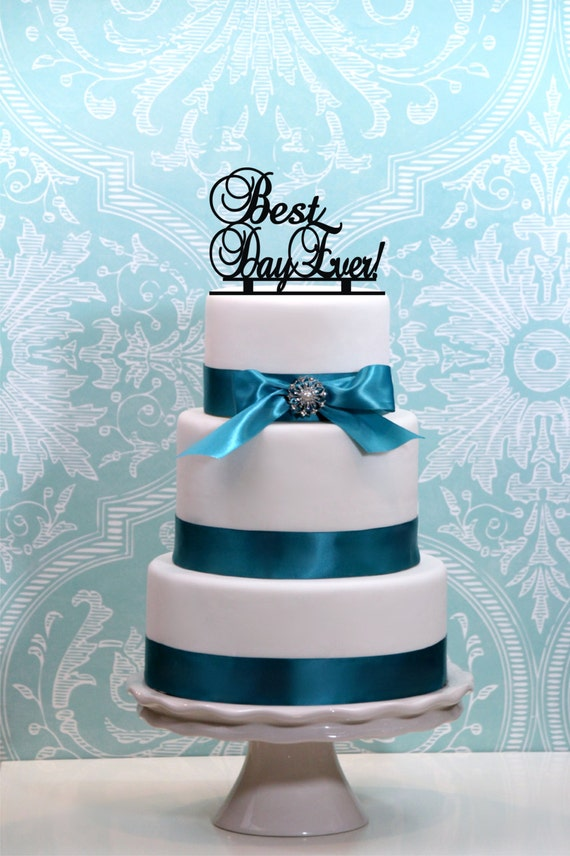 best wedding cake toppers ever best day wedding cake topper personalized 11703