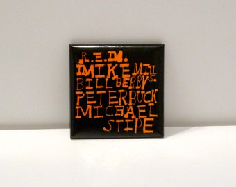 R.E.M. Pinback Out of Time 1991 Michael Stipe Peter Buck Bill Berry Mike Mills Athens GA 1990s alternative music band