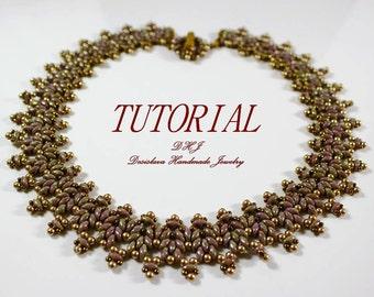 Tutorial superduo necklace Pdf