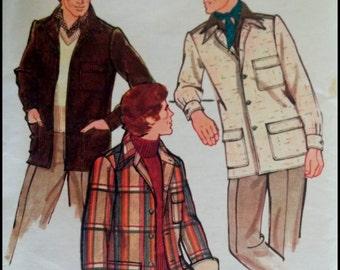 Vogue 8972  Men's Outer-Shirt  Size 36