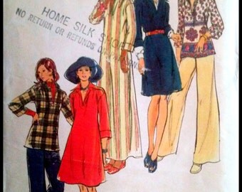 """Butterick 3356 Misses' Dress, Top And Pants  Bust 32.5"""""""
