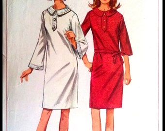 Simplicity 6720 Misses' One Piece Dress Bust 38""