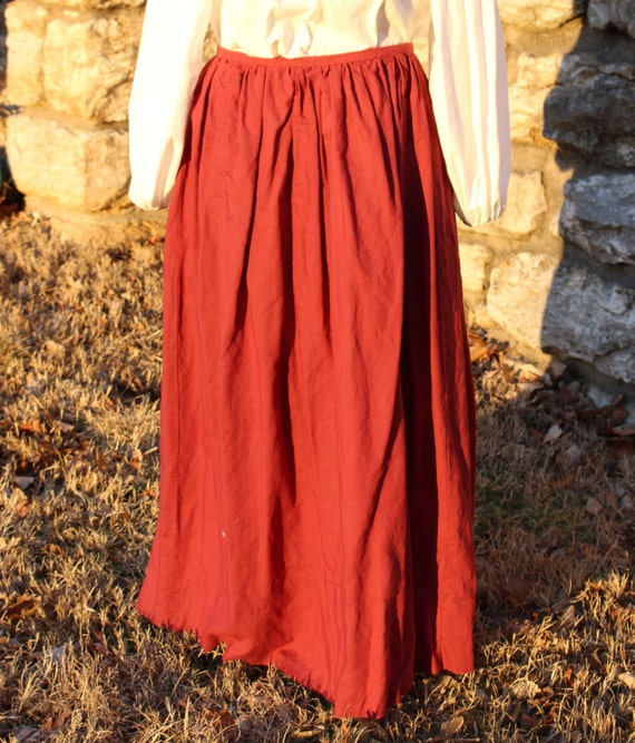 Renaissance Peasant Skirt 34
