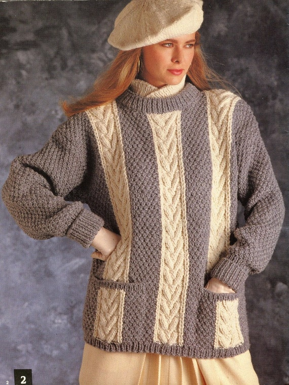 Knitting Pattern Book Sweaters for Teens Men and by ...