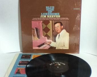 Jim Reeves Blue Side Of Lonesome Vintage Vinyl Record Album LP 1967 RCA Victor Dynagroove LSP 3793