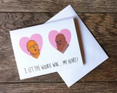 C-3PO and Chewbacca Star Wars Love Greeting Card