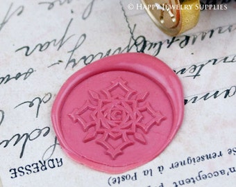 Buy 1 Get 1 Free - 1pcs Snowflake Gold Plated Wax Seal Stamp (WS212)