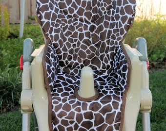 Girls Custom High Chair Cover/Pad  (design your own!)