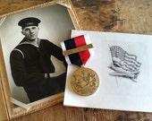 WWII Navy Medal, Occupation Service with Asia Bar