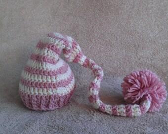 Baby Striped Elf Hat