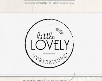 Photography Logo Design - Custom Pre-made logo / branding (LG07)
