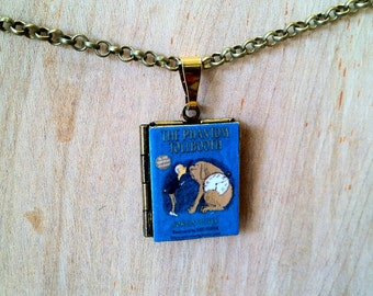 The Phantom Tollbooth - Norton Juster - Literary Locket -  Book Cover Locket Necklace