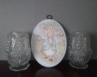 Beatrix Potter's Peter rabbit cloth picture