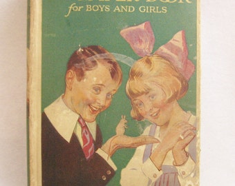 The Bumper Book for Boys and Girls - 1920's