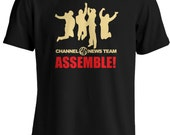 Anchorman: The Legend of Ron Burgundy - Channel 4 News Team Assemble T-shirt