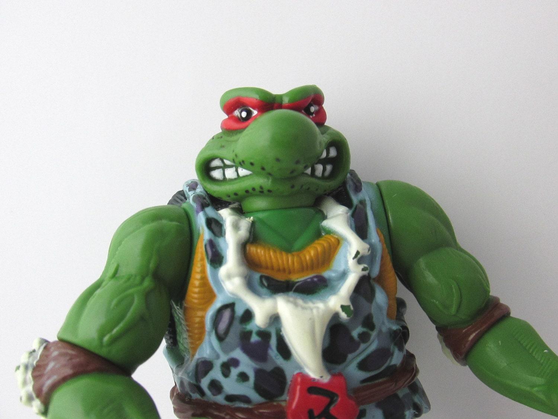 Raphael Cave Turtle Tmnt Vintage 1990s Playmates Toys 4