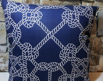 Nautical Ropes Pillow Cover//Custom Pillow