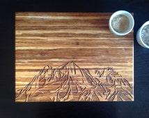 Mountain Range Board, Pikes Peak, Colorado Mountains, Free Personalization