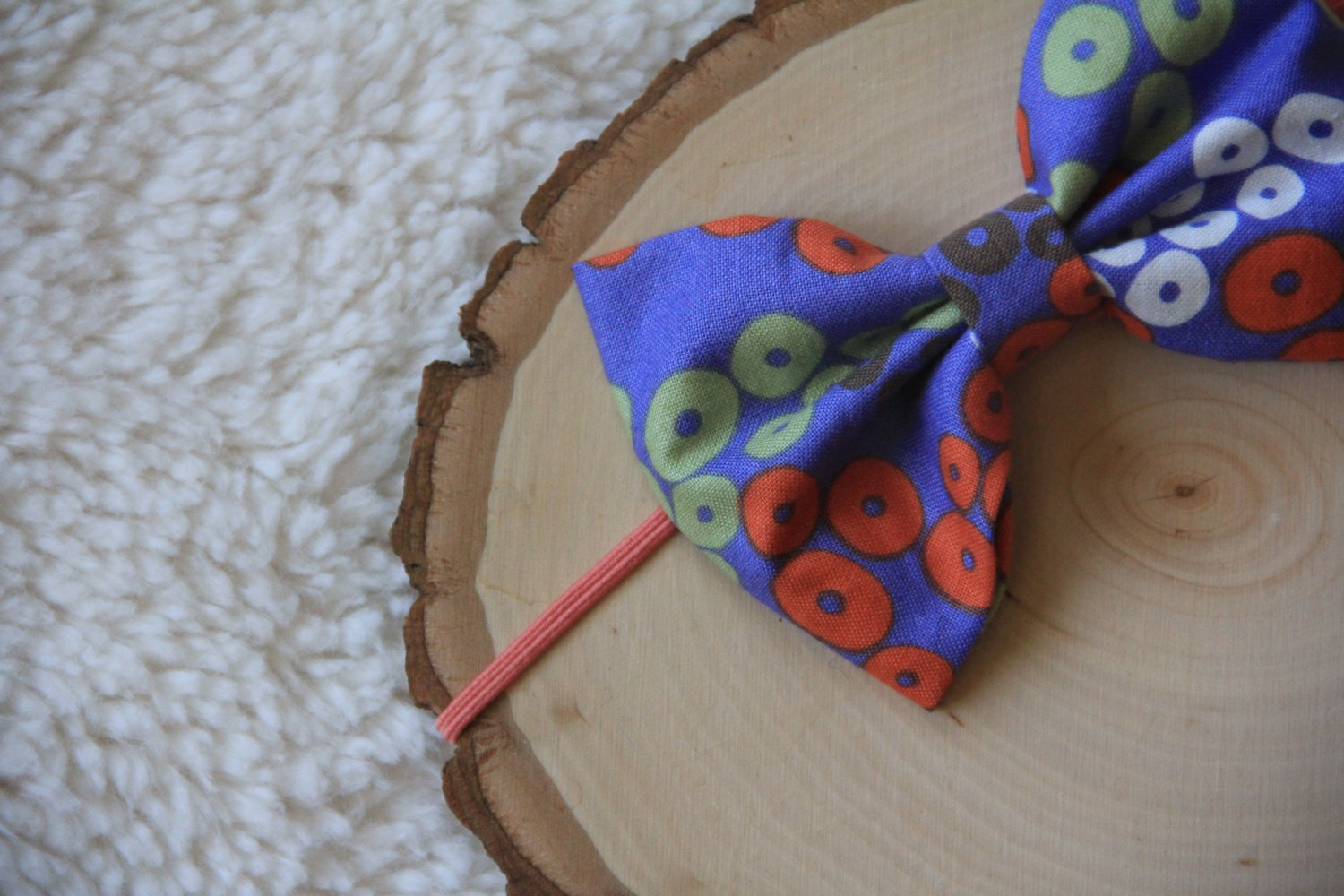 Fun Pattern Fabric Baby Bow Headband Fabric By