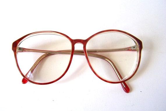 Vintage Eyeglass Frames Maine : Retro 80s Eyewear Eyeglasses Eyeglass Tortoise Shell